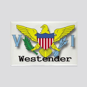 westender Rectangle Magnet
