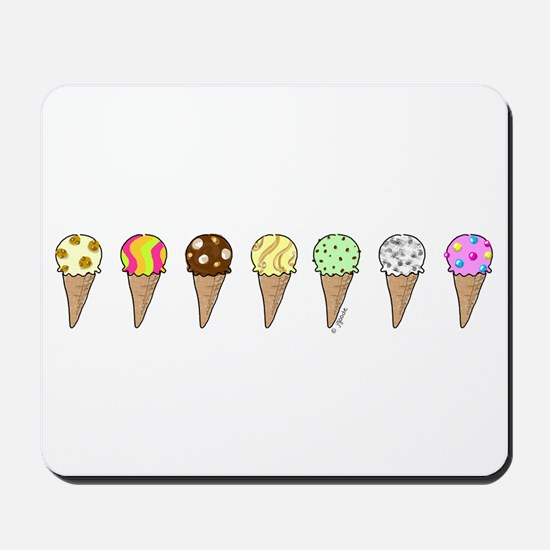 Lots of Ice Cream Mousepad