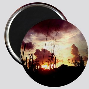weedy sunset Magnet