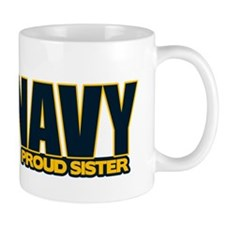 Navy Sister Mug