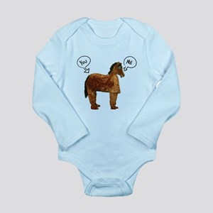 Horse's Ass Long Sleeve Infant Bodysuit