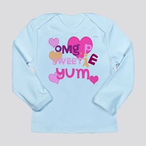 OYOOS Sweetie Pie design Long Sleeve Infant T-Shir