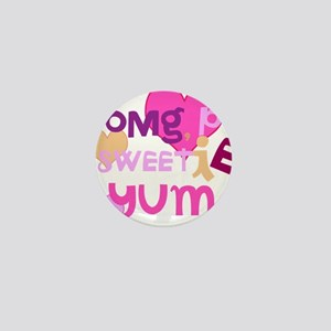 OYOOS Sweetie Pie design Mini Button