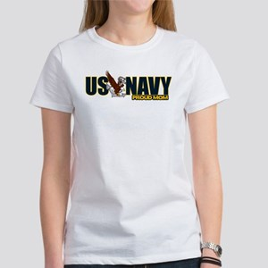 Navy Mom Women's T-Shirt
