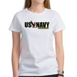 Navy boyfriend Women's T-Shirt