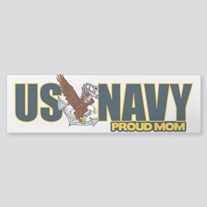 Navy Mom Sticker (Bumper)