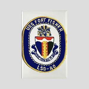 USS Fort Fisher LSD 40 Rectangle Magnet