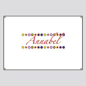 Annabel with Flowers Banner