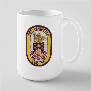 USS Pensacola LSD 38 Large Mug