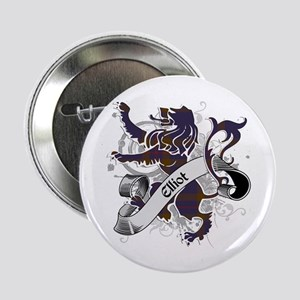 "Elliot Tartan Lion 2.25"" Button"