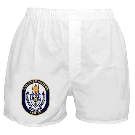 USS Germantown LSD 42 Boxer Shorts