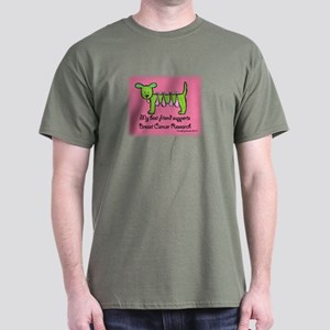 Breast Cancer Research Dark T-Shirt