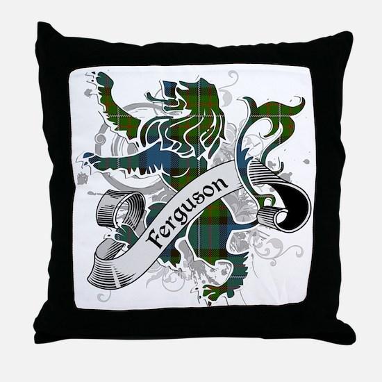 Ferguson Tartan Lion Throw Pillow