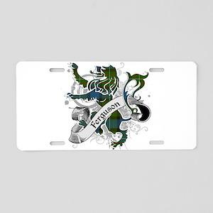 Ferguson Tartan Lion Aluminum License Plate