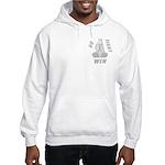 Gray WIN Ribbon Hooded Sweatshirt