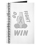 Gray WIN Ribbon Journal