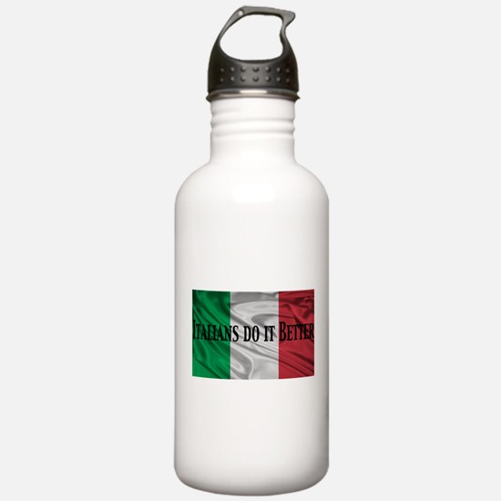 Italians Do It Better Water Bottle