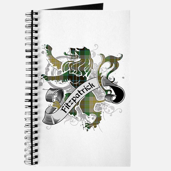 Fitzpatrick Tartan Lion Journal