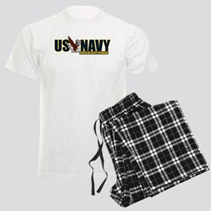 Navy Boyfriend Men's Light Pajamas