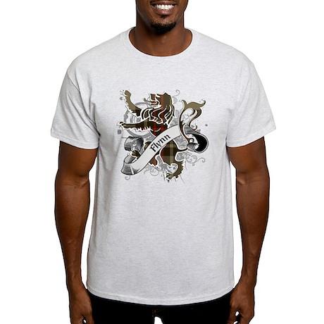 Flynn Tartan Lion Light T-Shirt