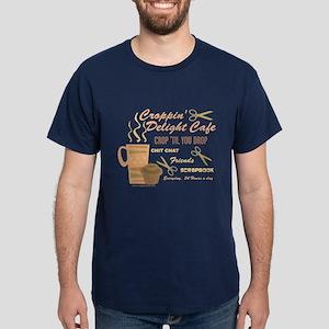 Croppin' Delight Cafe V.2 Dark T-Shirt