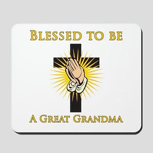Blessed Great Grandma Mousepad