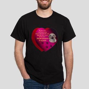 Pawprints 2 Dark T-Shirt