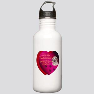 Pawprints 2 Stainless Water Bottle 1.0L