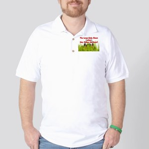No Lawns for Oil! Golf Shirt
