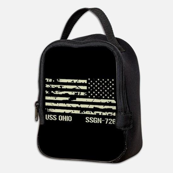 USS Ohio Neoprene Lunch Bag