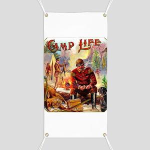 Camp Life Cigar Label Banner