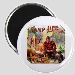 Camp Life Cigar Label Magnet