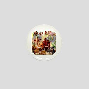 Camp Life Cigar Label Mini Button