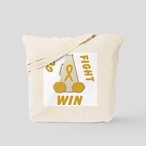 Gold WIN Ribbon Tote Bag