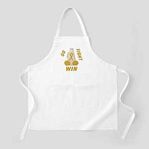 Gold WIN Ribbon BBQ Apron