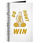 Gold WIN Ribbon Journal