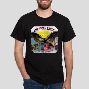 American Eagle Cigar Label Dark T-Shirt
