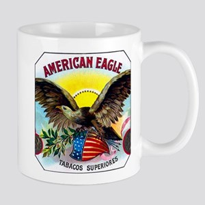 American Eagle Cigar Label Mug