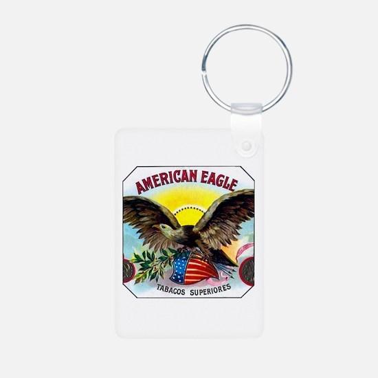 American Eagle Cigar Label Keychains