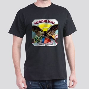 American Eagle Cigar Label Dark T-Shirt