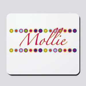 Mollie with Flowers Mousepad