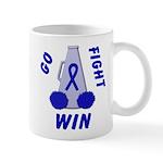 Blue WIN Ribbon Mug