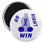 Blue WIN Ribbon Magnet
