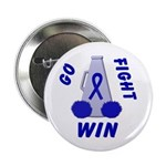 Blue WIN Ribbon Button