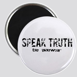 """Speak Truth 2.25"""" Magnet"""