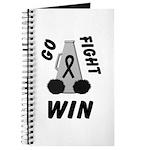 Black WIN Ribbon Journal