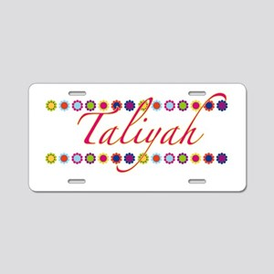 Taliyah with Flowers Aluminum License Plate
