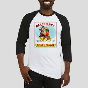Black Hawk Chief Cigar Label Baseball Jersey