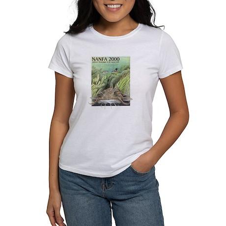 Women's NANFA 2000 t-shirt (white)