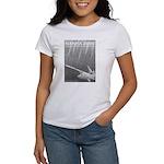 Women's paddlefish T-shirt (white)